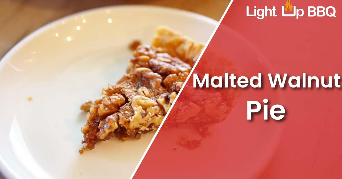 Malted-Walnut-Pie
