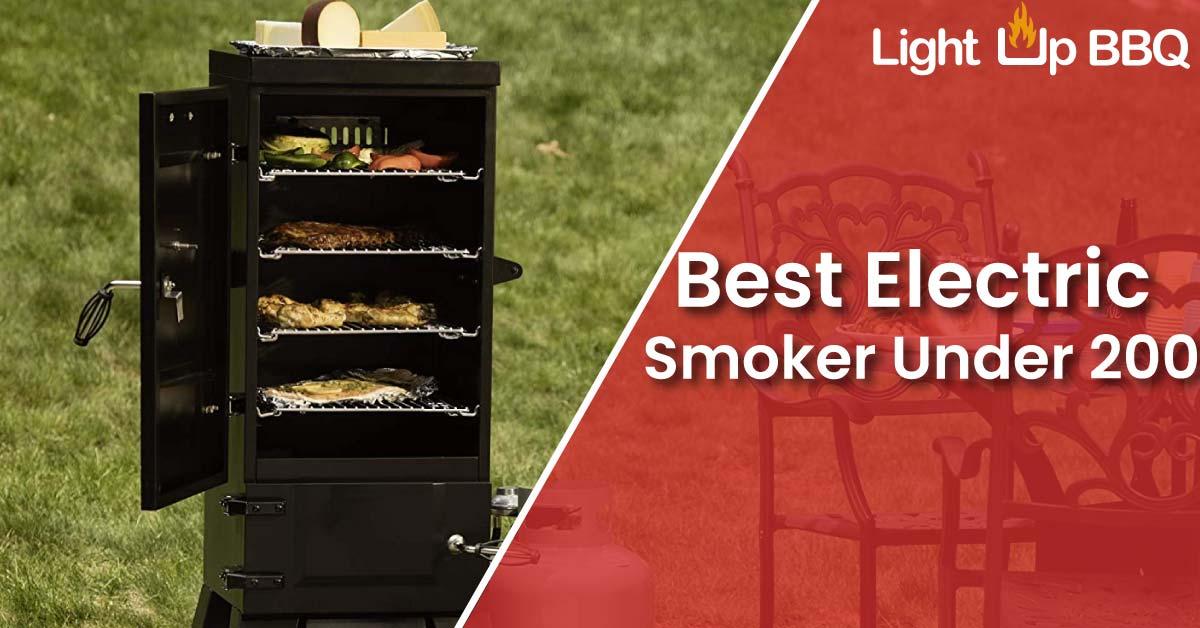 best electric smoker under 200